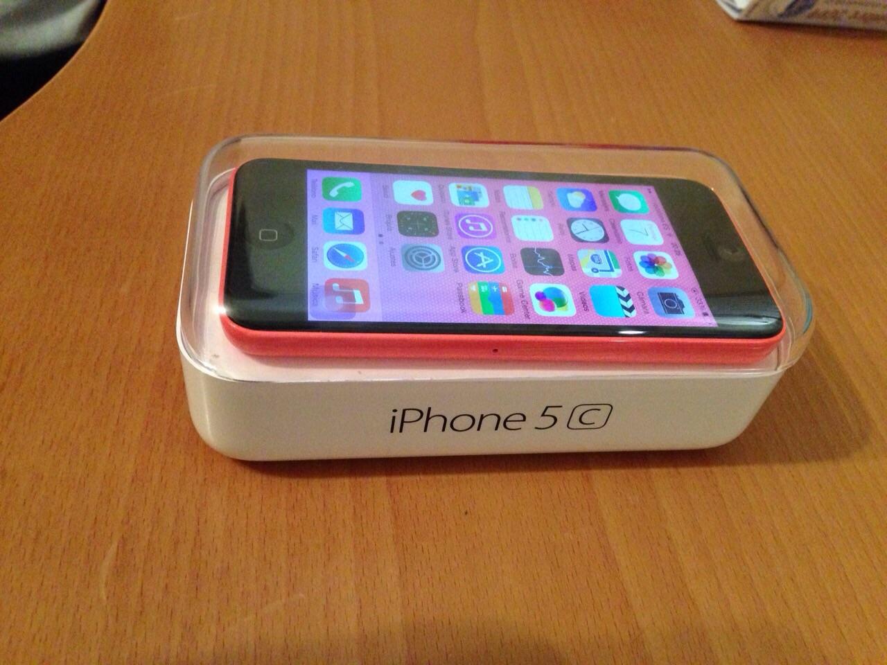venta iphone 5c rosa libre   venta segunda mano apple