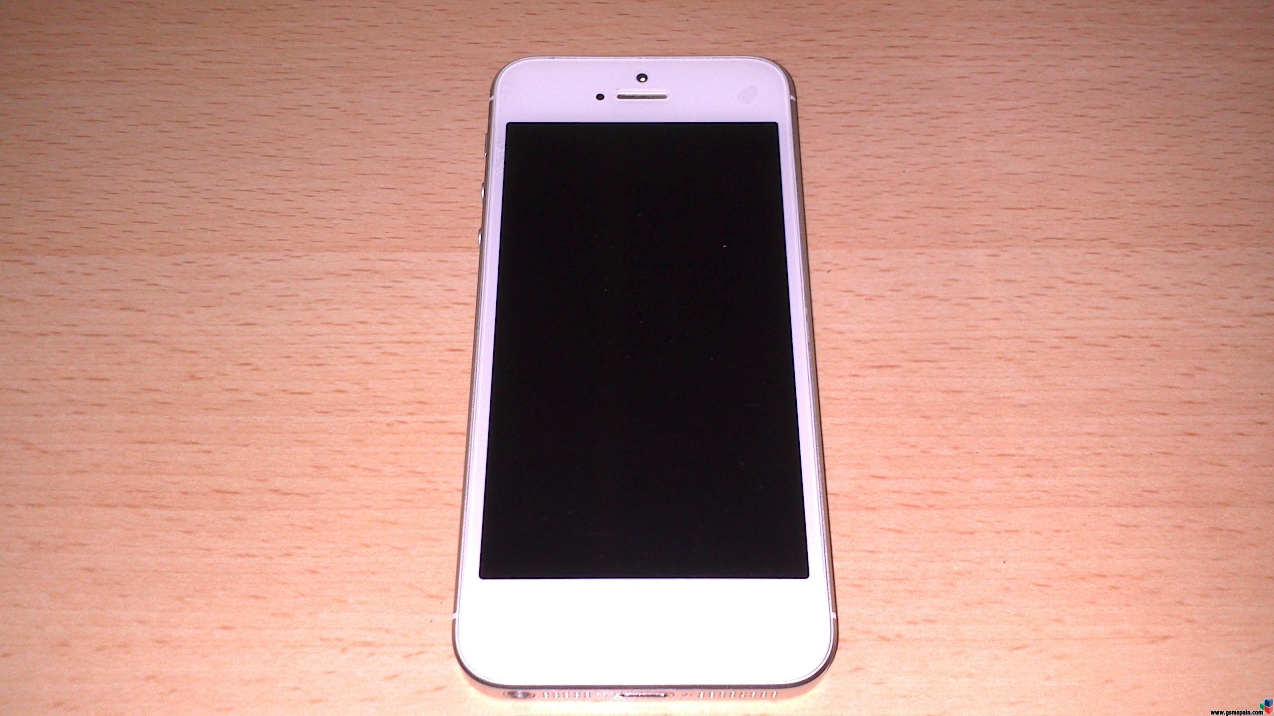 3244a91507a venta vendo iphone 5 libre blanco perfecto estado | venta segunda mano apple