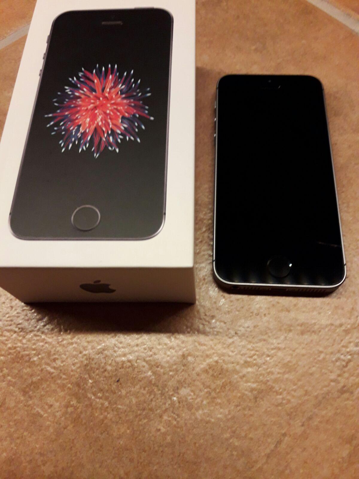 venta iphone se gris espacial 16gb | venta segunda mano apple