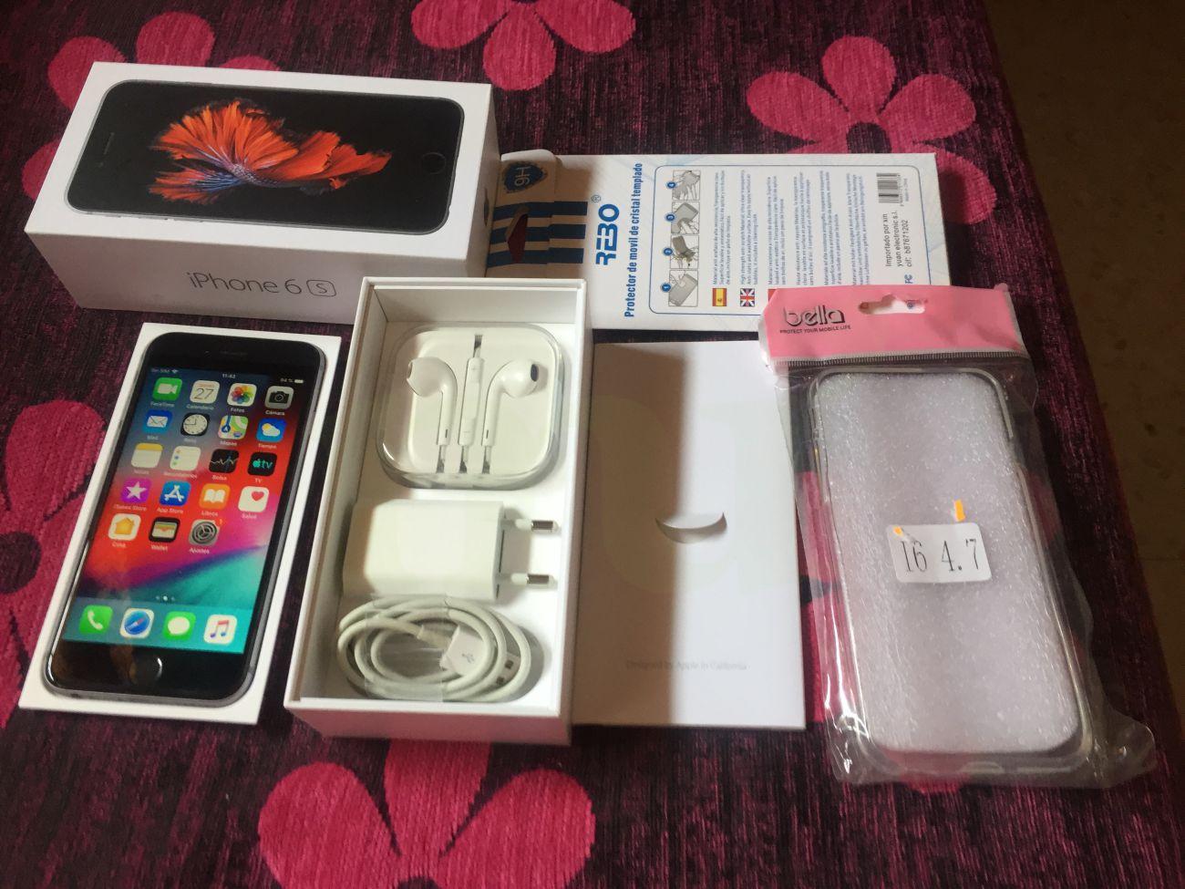 f9d9148222f venta iphone 6s 128 gb gris espacial libre acc originales impecable ...
