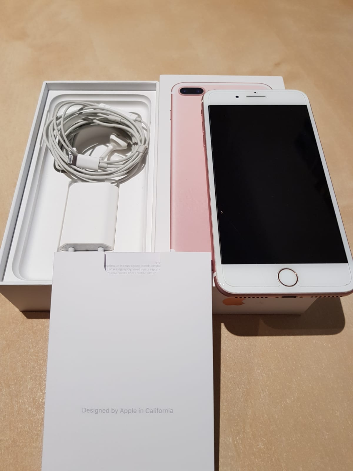 e4f5cada185 venta iphone 7 plus oro rosa | venta segunda mano apple