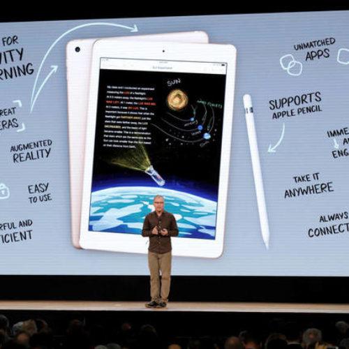 Apple estrena su nuevo iPad por 349€