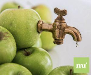 saca el jugo a tu apple manzanas usadas