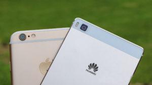 Apple segunda mano Vs Huawei