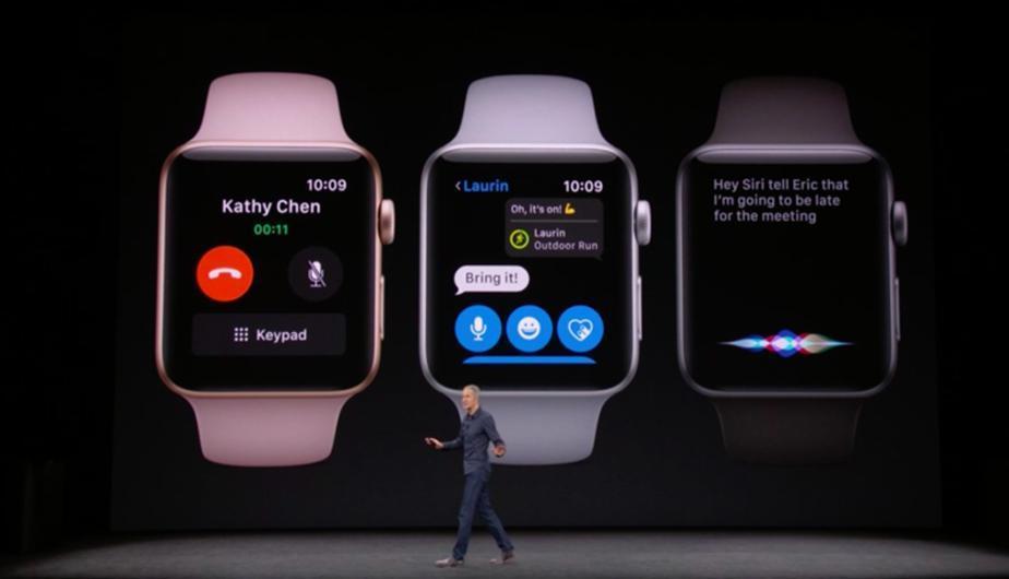 presentación Apple watch