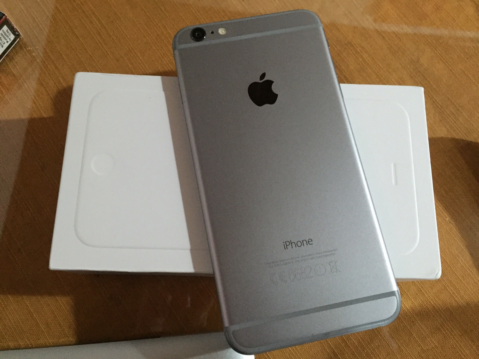 venta iphone 6 plus 16gb gris espacial libre fundas y ...