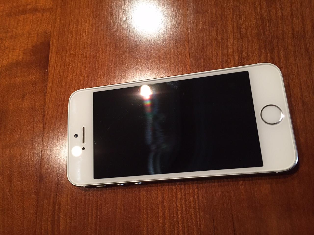 40ff69bbc8a venta iphone 5s 32gb blanco libre en perfecto estado lo vendo por ...