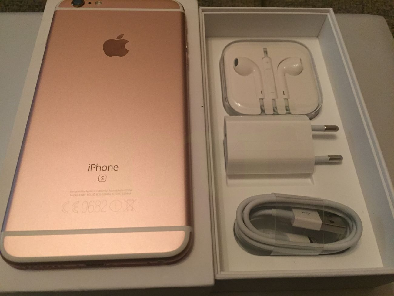 Comprar iphone 6s plus 16 gb pro rosa segunda mano