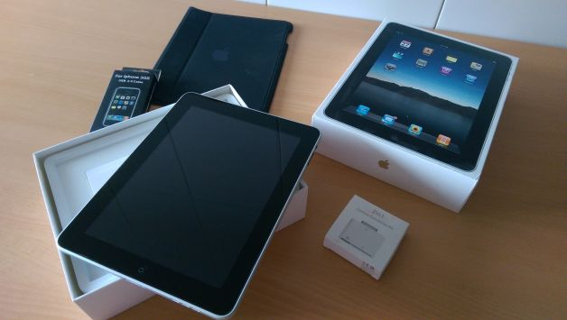 iPad 1 32 Gb WiFi en estado impecable con extras
