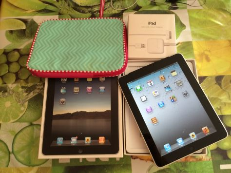 IPAD 1 - 32GB, LIBRE, NEGRA, WIFI+3G, ESTADO EXCELENTE!!!!