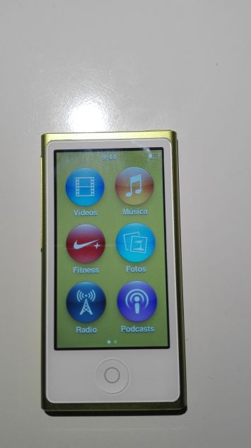 iPOD NANO 7ªg 16GB YELLOW