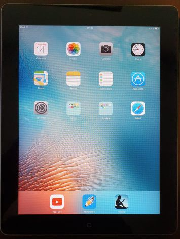 iPad 2 de 32 GB en perfecto estado + funda tipo Smart cover