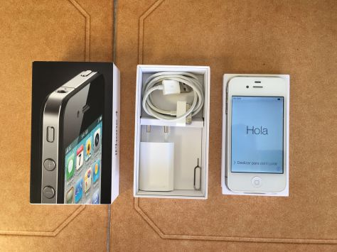 iPhone 4 16Gb Libre Blanco