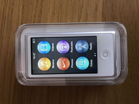 IPOD NANO 7G 16GB White & Silver
